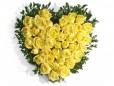 Inima 21 trandafiri