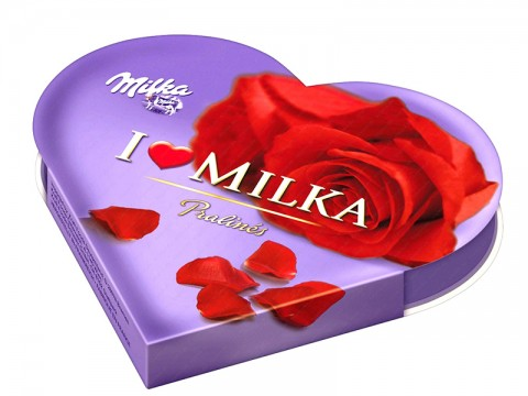 Ciocolata I Love Milka ( 140 gr )